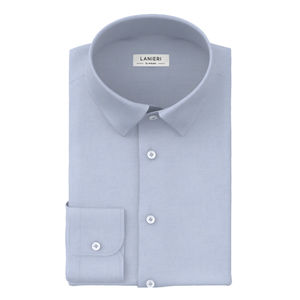 Camisa Celeste Oxford