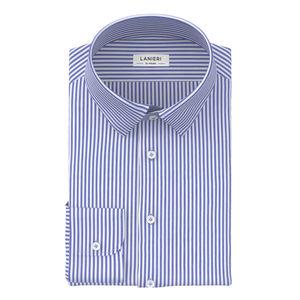 Hemd Blau Streifen-Dessin