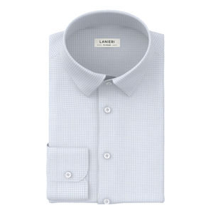 Shirt Light Blue Check