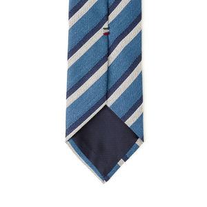Cravatta Regimental Blu