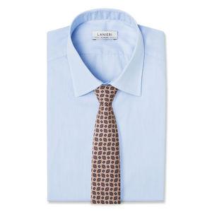 Cravatta Vintage Beige Seta