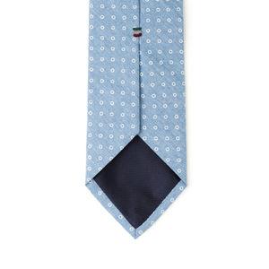 Cravatta Denim Circle Azzurro