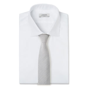 Cravatta Regimental Azzurra Bianca