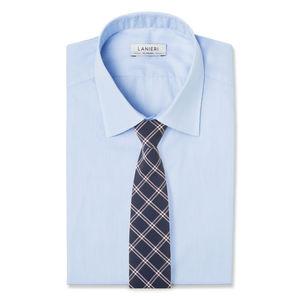 Cravatta Blu Finestrato