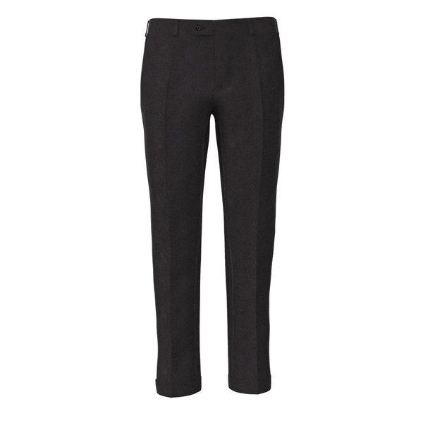 Trousers Carlo Barbera Four Seasons Solid Dark Grey