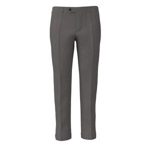 Pantalone Beige Rigato