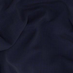 Pantalone Blu Quadri Lana