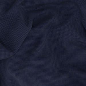 Pantalone Stretch Blu Pied de Poule
