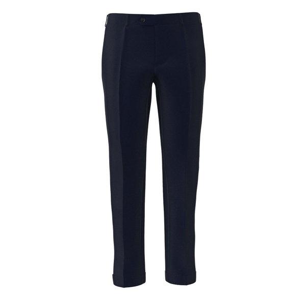 Pantalone Drago Quattro Stagioni Principe di Galles Blu Scuro