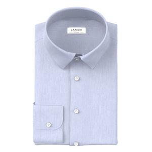 Camicia Azzurra Zephyr Cotone