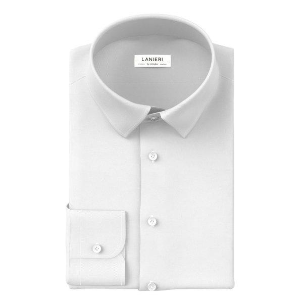 Hemd Ibieffe Four Seasons Solid White