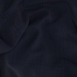 Pantalone Check Blu Melange