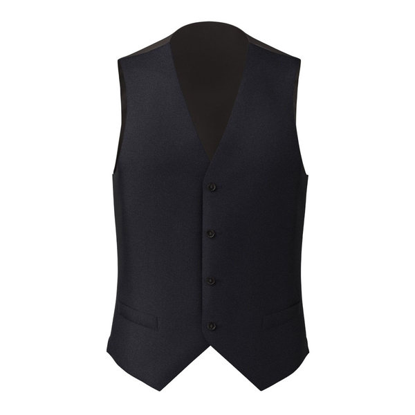 Waistcoat Reda Four Seasons Microdesign Blue