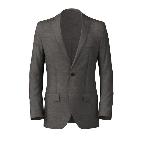 Blazer Reda Four Seasons Solid Light Grey