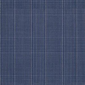 Giacca Principe di Galles Azzurro