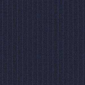 Pantalone Blu Rigato Twill
