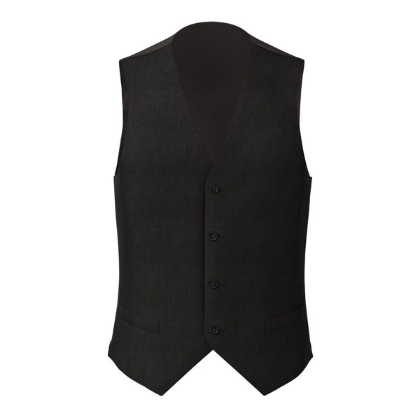 Waistcoat Reda Four Seasons Microdesign Black