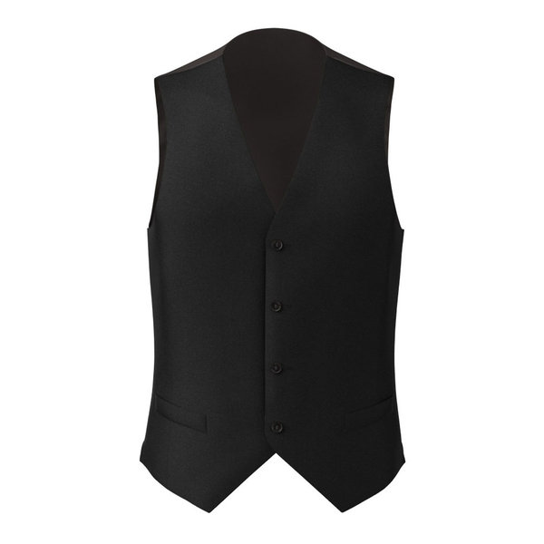 Waistcoat Tallia Delfino Four Seasons Solid Black