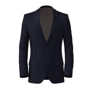 Giacca Cotton Twill Blu
