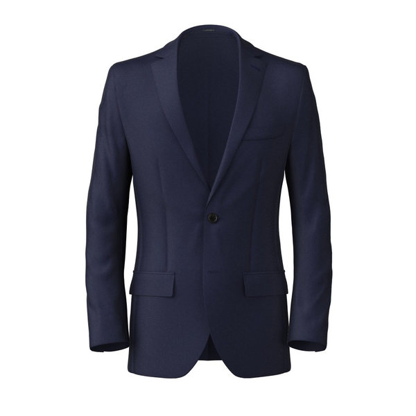 Blazer Lanificio Ermenegildo Zegna Four Seasons Solid Blue