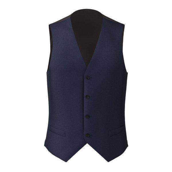Waistcoat Lanificio Ermenegildo Zegna Four Seasons Solid Blue