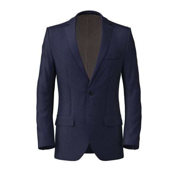 Jacket Lanificio Ermenegildo Zegna Four Seasons Solid Blue