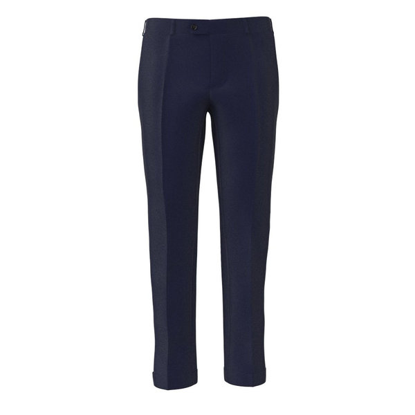 Trousers Lanificio Ermenegildo Zegna Four Seasons Solid Blue