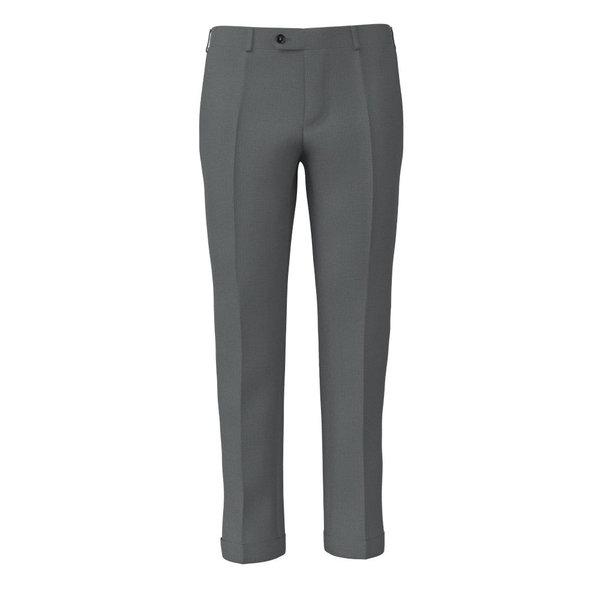 Pantalone Lanificio Ermenegildo Zegna Primavera/Estate Tinta Unita Grigio Chiaro