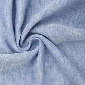 Sciarpa Cotone Lino Azzurro