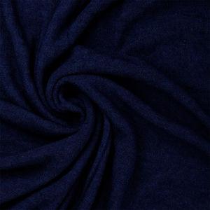 Sciarpa Tubo Cashmere Seta Blu