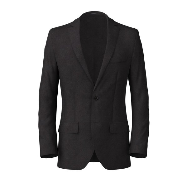 Blazer Carlo Barbera Four Seasons Solid Dark Grey