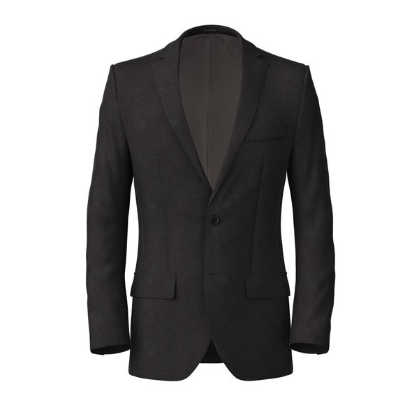 Veste Carlo Barbera Four Seasons Solid Dark Grey