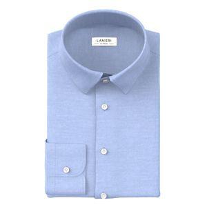 Hemd Comfort Azurblau