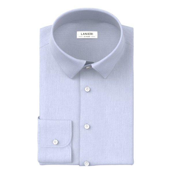 Shirt Ibieffe Four Seasons Solid Light Blue