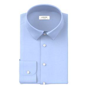 Shirt Icon Light Blue Poplin