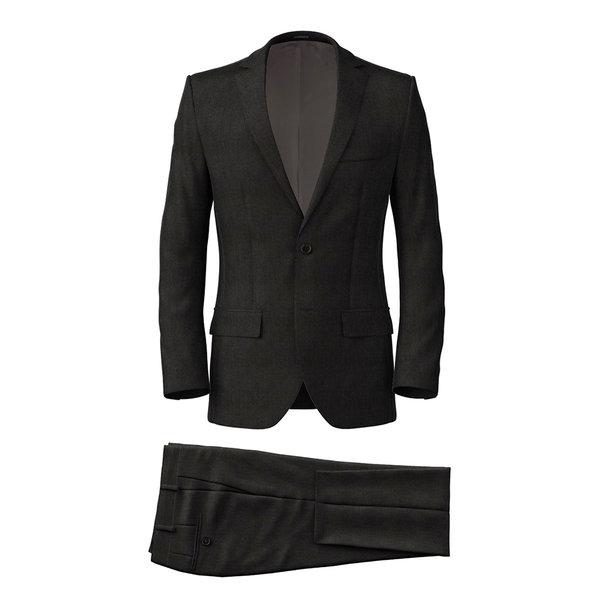 Suit Reda Four Seasons Microdesign Black