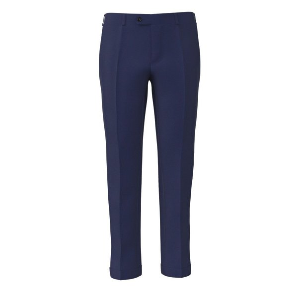 Pantalone Tallia Delfino Primavera/Estate Tinta Unita Blu Chiaro