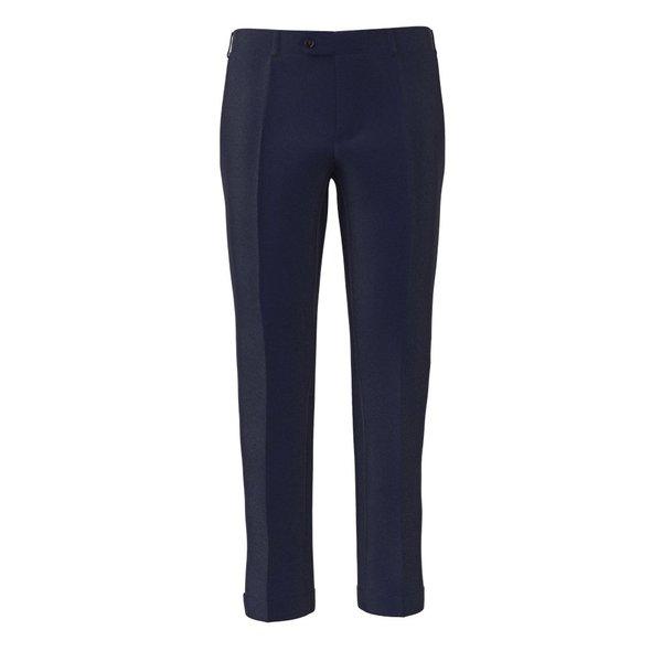 Trousers Lanificio Ermenegildo Zegna Four Seasons Solid Blue