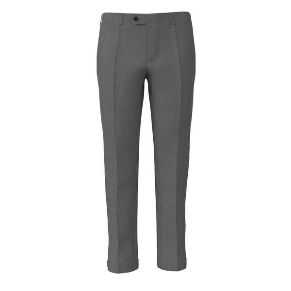 Pantalone Lanificio Ermenegildo Zegna Quattro Stagioni Grisaglia Grigio Chiaro