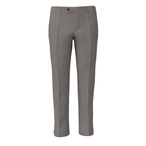 Pantalone Lanificio Ermenegildo Zegna Quattro Stagioni Grisaglia Marrone