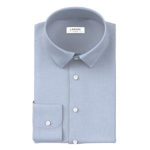 Camicia Natural Stretch Azzurro Oxford
