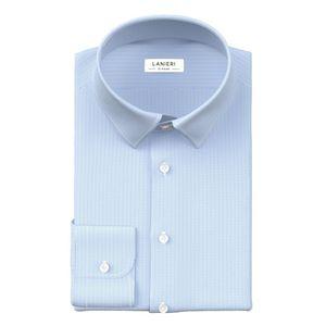 Camicia Azzurra Micro Rigata