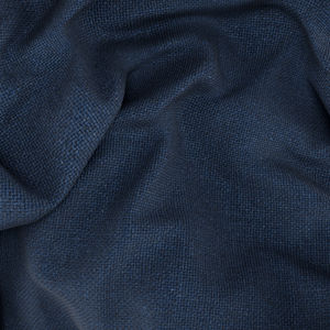 Linen Silk Blue Blazer Fabric produced by  Carlo Barbera