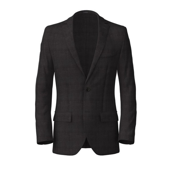 Blazer Carlo Barbera Four Seasons Prince of Wales Dark Grey