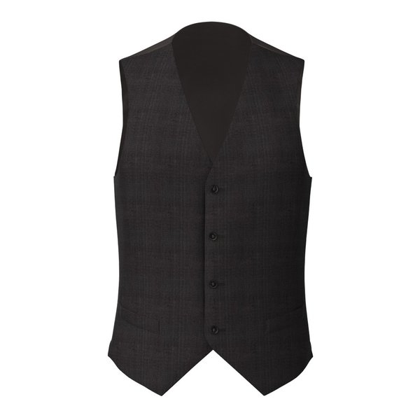 Gilet Carlo Barbera Four Seasons Prince of Wales Dark Grey