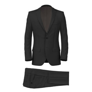 Suit 160's Grey Herringbone