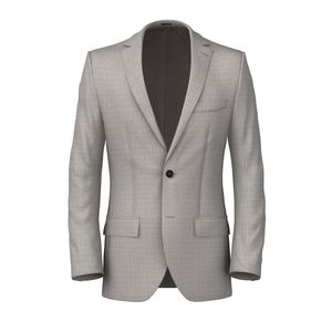Jacket Wool Mohair Grey