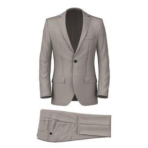 Suit Beige Stripe