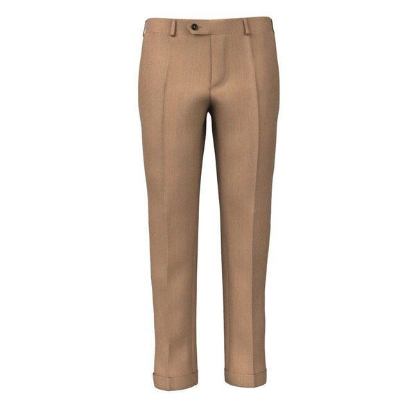Trousers Drago Spring/Summer Twill Brown