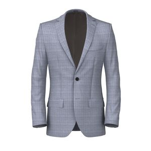 Jacket Light Blue Armaturato